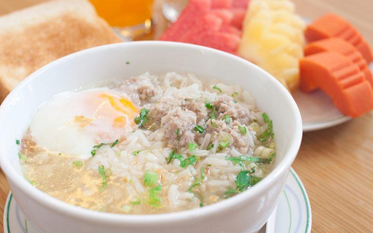China Town Hotel Bangkok : Boiled Rice Set
