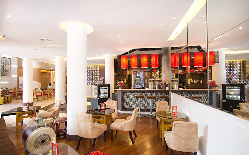 China Town Hotel Bangkok :休息室