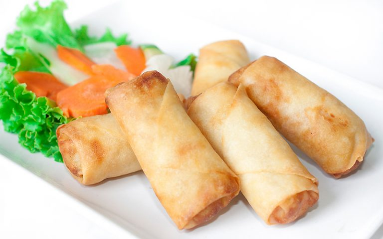 China Town Hotel Bangkok : Deep Fried Spring Rolls