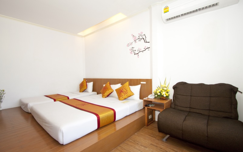 China Town Hotel Bangkok :ห้องดีลักซ์