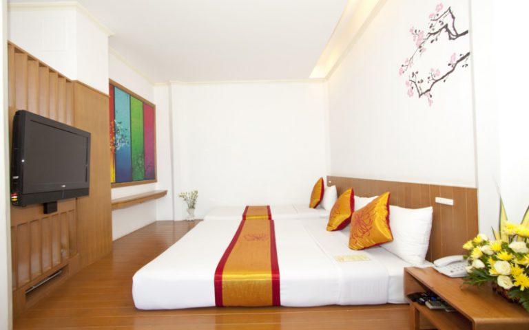 China Town Hotel Bangkok : Deluxe Room