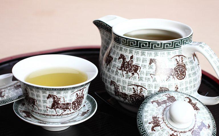 China Town Hotel Bangkok : Tea Set