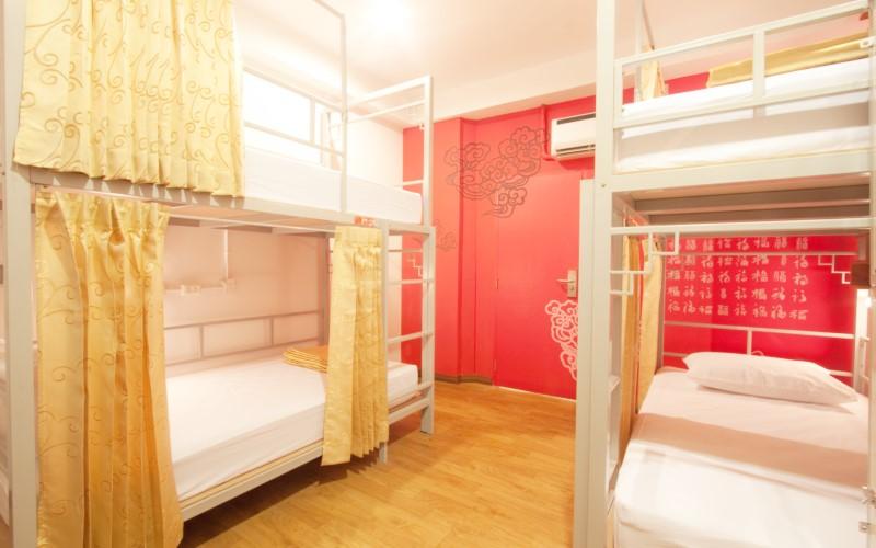 China Town Hotel Bangkok :ห้องเตียง 2 ชั้น สำหรับผู้ใหญ่ 6 ท่าน